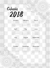 Calendar Template Png 2018 Calendar Template Png Vectors Psd And Clipart For Free