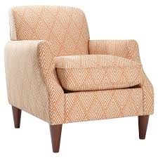 Living Room Accent Chairs With Arms Homeware Astor Club Chair Tangerine Accent Chairs At Hayneedle