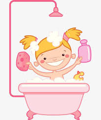 take a shower clipart. Fine Take A Girl With Sponge On Her Body Take A Shower Bath Wash To Shower Clipart E