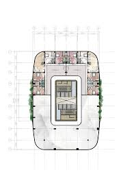 office building plans and designs. 47th Floor / Penthouse Mezzanine Design 8 Proposed Corporate Office Building High Plans And Designs N