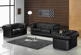 Living Room Cool Contemporary Living Room Furniture Sets Black
