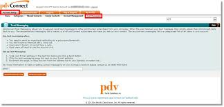 sending text message from email send a text message list link via email using the pdvconnect web
