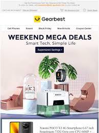 gearbest DE: Weekend Exclusive Flash Sale   Save Up to 50% OFF ...
