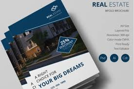 Real Estate Brochure Template Free 25 Real Estate Brochures Word Pdf Psd Apple Pages