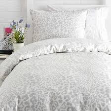 Leopard Bedroom Snow Leopard Duvet Cover And Sham Set Quilt Duvet Covers And