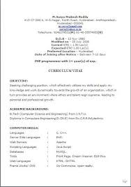 Current Resume Formats Inspiration Best Resume Headline Free Download Sample Template Excellent