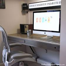 floating desk build, home office, painted furniture, tools, woodworking  projects