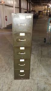 Five Drawer Filing Cabinet Army Green Five Drawer Filing Cabinet Letter Legal Vertical