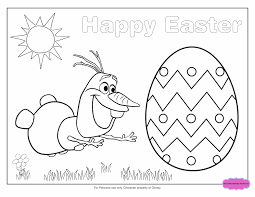 Disney Easter Coloring Pages To Print The Color Panda