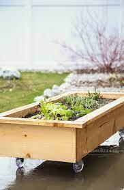 diy rolling planter box kleinworth co