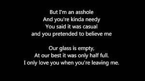 I m an asshole song lyrics