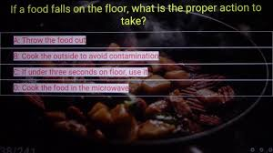 Food Handlers Test Answers 230 Food Safety Practice Test Questions 1 Youtube