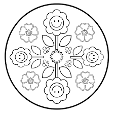 10 Mandala Della Primavera Da Colorare Mamma E Casalinga