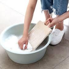 wash clothes in bathtub plastic scrubbing plate non slip trumpet washing board washing clothes small washboard wash clothes in bathtub