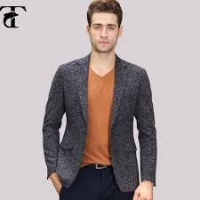New Blazer Design 2016 2016 New Arrival Custom French Mens Peached Finish Design