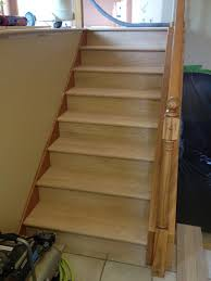 Carpet To Hardwood Stairs Hardwood In The Split Level Home A Project Blog Natural Accent