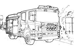 Camion Da Trasporto Scania Disegno Da Colorare Gratis Disegni Da
