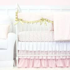 nursery cot bedding set blush and gold nursery bedding ivory nursery bedding pink and white baby bedding