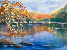 watercolor landscape artists famous landscape painting home decor ideas