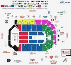 Sap Center Seating Chart Concert Sap Center Concert Seating Chart 3d 2019