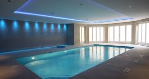 indoor swimming pool lighting. basement swimming pool with mood lighting indoor n