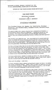 inaugural address john f kennedy presidential inaugural address 20 1961 john f kennedy presidential library museum
