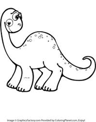 Small Picture Free cute dinosaur coloring page 14 from Coloring Planetcom