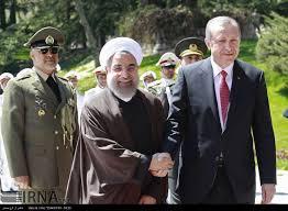 Afbeeldingsresultaat voor اردوغان و روحانی