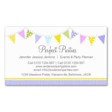 Party Planning Business Cards Templates 12 Best Event Planner