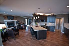 open floor plan homes. Exclusive Ideas Open Floor Plan Home Pictures 11 For Contemporary House Homes L