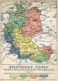История Германии Википедия После Второй мировой войны Разделение Германии и Австрии на зоны оккупации
