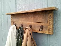 Wood Coat Rack Wall Mount Extraordinary Astonishing Pallet Wood Coat Rack W32 Coat Racks Wooden Coat