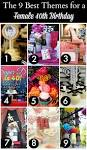 Ideas for 40th birthday decorations