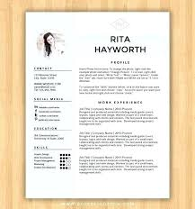 Free Curriculum Vitae Template Extraordinary Free Creative Curriculum Vitae Template Word Resume Templates And