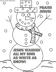 Christian Christmas Coloring Pages With Printable Religious 6
