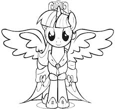 Small Picture Online for Kid My Little Pony Coloring Pages Twilight Sparkle 39