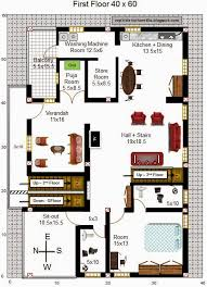 north facing house plans in 30x40 site for 40 x 40 duplex house plans