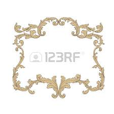 Design Decorative Enchanting Baroque Vector Set Of Vintage Elements For Design Decorative
