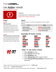 What Are Action Verbs List List Of 21 Great Call To Action Verbs Brandongaille Com