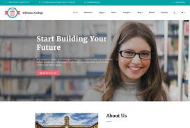 College Templates 50 Best Html Education Website Templates 2017