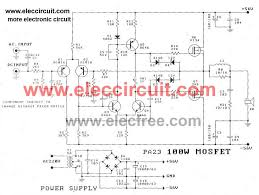 w power amplifier circuit diagram wirdig meter amplifier mos fet schematic amplifier car wiring diagram