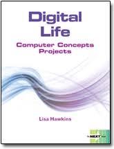 front page for computer project digital life computer concepts projects