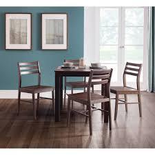 dining set monterey dark walnut dining table and 4 dining chairs mon301