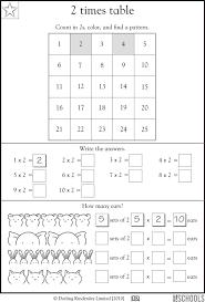 Fine These Multiplication Times Maths Activity Sheets Kindergarten ...