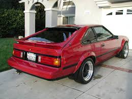 Red, clean Toyota Supra MK2 | Customized Old School Toyotas ...
