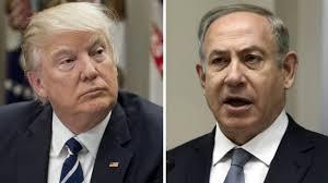 Resultado de imagen para netanyahu trump