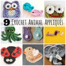 Crochet Animal Patterns Gorgeous CrochetADay 48 Crochet Animal Appliqués Make And Takes