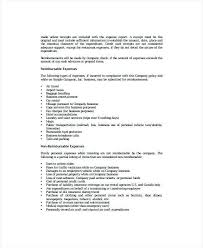 business policy example sample of company policy related to reporting