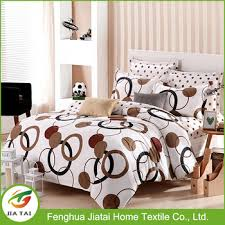 Home Textile Fancy Designer Bed SheetsGeometric Pattern Chinese