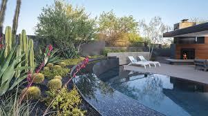 Scottsdale Backyard Design Ahead Of The Curve Phoenix Home Garden